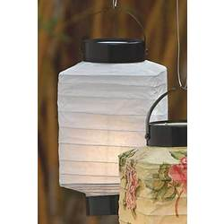White Glowing Nights Lantern