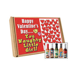 Valentine's Day Naughty Girl Hot Sauce Gift