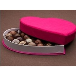 Half Pound Assorted Truffles in a Heart Shaped Box