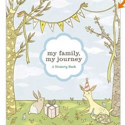 My Family, My Journey Baby Photo Album for Adoptive Families