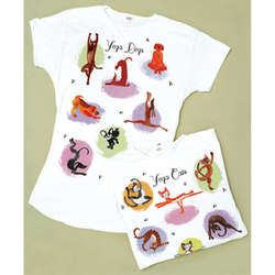 Yoga Dogs Sleepshirt
