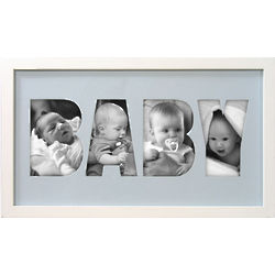 Baby Alpha Picture Frame