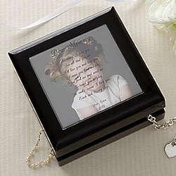 Personalized Photo Jewelry Box with Poem