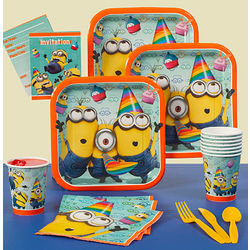Despicable Me 2 Birthday Party Tableware Set
