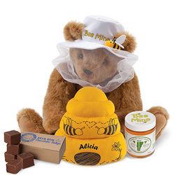 Bee Mine Teddy Bear with Fudge