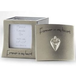 Forever in My Heart Personalized Memorial Frame/Box