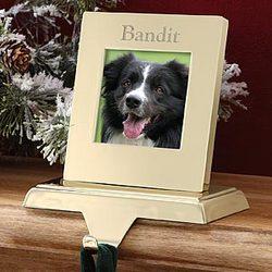 Pet Photo Memories Stocking Holder