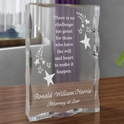 Personalized Make It Happen Plaque