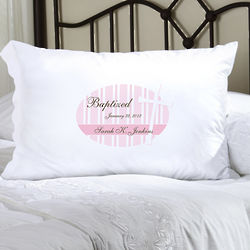 Personalized God Bless Pillow Case