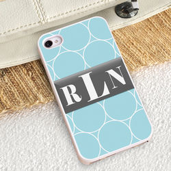 Ring-a-Ling iPhone Case With White Trim