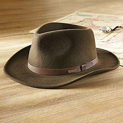 Crushable Felt Travel Hat