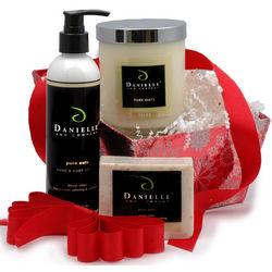 Organic Home, Bath and Body Holiday Gift Basket