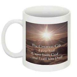 The Greatest Gift Dad Coffee Mug