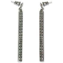 Sterling Silver Serenity Earrings