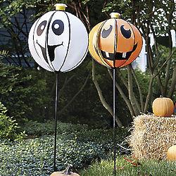 Spinning Pumpkin Accent Light