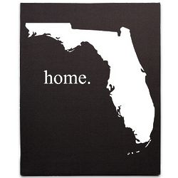 Home State Wrapped Canvas Wall Art