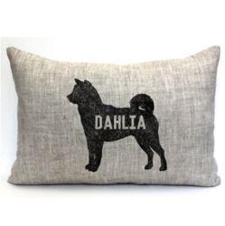 Personalized Doggie Throw Pillow