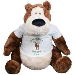 Christmas Goober Teddy Bear in Personalized T-Shirt