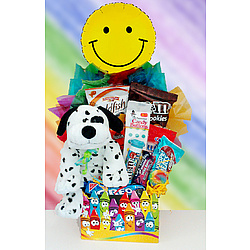 Kids Happy Crayon Gift Basket