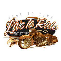 Live To Ride Motorcycle T-Shirt