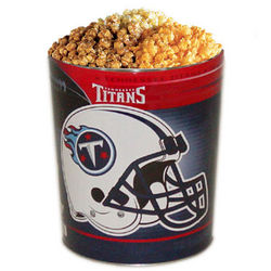 Tennesse Titans 3 Way Popcorn Tin