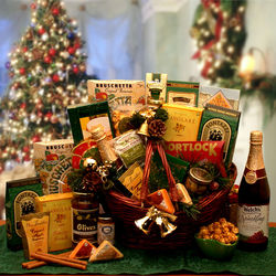 Holiday Entertainer Gift Basket