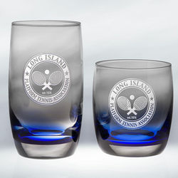 Personalized Marin on the Rocks Glasses