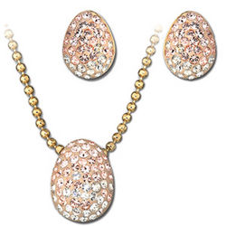 Swarovski Born Gold-Plated Jewelry Set