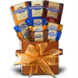 Holiday Ghiradelli Gift Basket