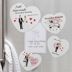 Personalized Wedding Magnets