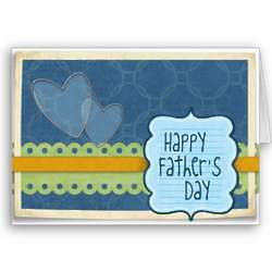 Father's Day Heartfelt Greeting Card