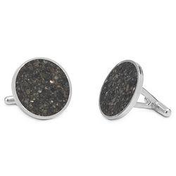 Sterling Silver Custom Beach Cufflinks