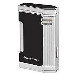 Black Lacquer Prometheus Magma Tabletop Lighter