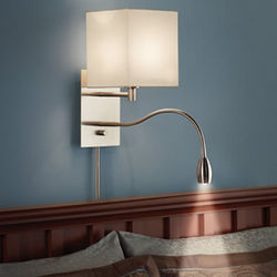 Brightness Zooming Bedside Wall Lamp