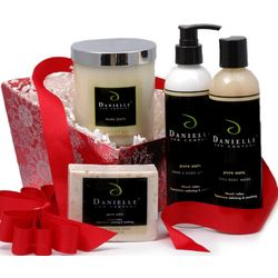 Ultimate Organic Bath & Body Holiday Gift Basket