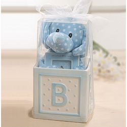 Welcome Baby Boy Gift Set