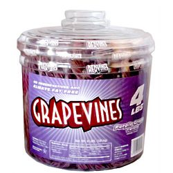Purple Grape Vine Licorice Twist Candies