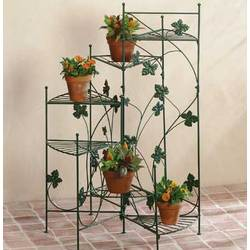 Metal Ivy Design Plant Stand