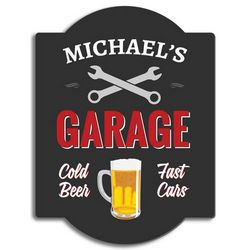 Handyman Personalized Garage Sign