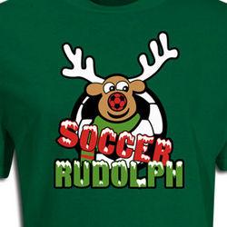 Soccer Rudolph T-Shirt