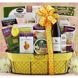 Edenbrook Vineyards Chardonnay Easter Gift Basket