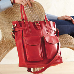 Really Red Leather Handbag