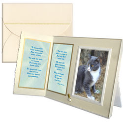 If Tears Could Build a Stairway Pet Loss Sympathy Picture Frame