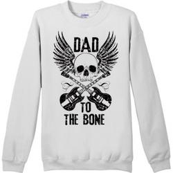 """""""Dad To The Bone"""" Men's Sweatshirt"""