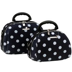 Luca Vergani 2 Piece Cosmetic Case Set