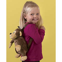 Monkey Backpack with Candy