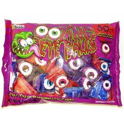 Oozing Eyeballs Candy