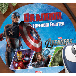 Avengers Personalized Mouse Pad