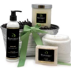 Organic Home and Body Signature Holiday Gift Basket