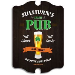 Irish Pub Custom Sign